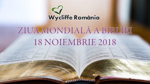 Ziua mondială a Bibliei